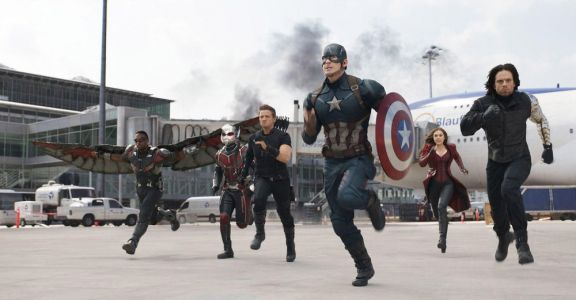 Someone Put Audio from BILLY ON THE STREET in CAPTAIN AMERICA: CIVIL WAR and Chris Evans Approves