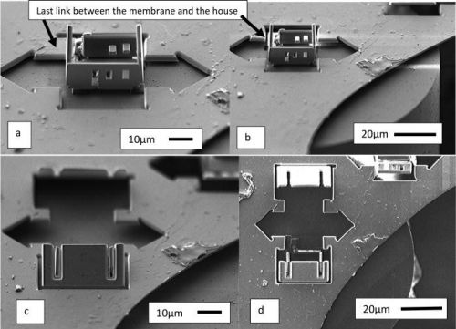 Robotic assembly of the world's smallest house-even a mite doesn't fit through the door