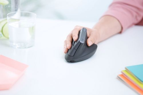 Logitech's MX Vertical turns the company's best mouse on its head