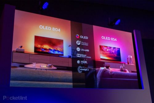Philips announces OLED 804 and OLED 854 models for 2019