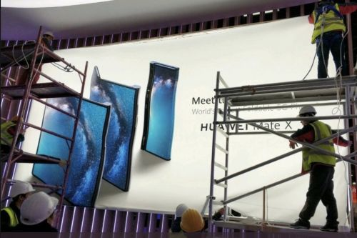 Huawei's foldable Mate X 5G phone leaks ahead of MWC 2019