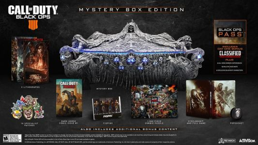 Comic-Con 2018: Frightening Black Ops 4 Collector's Edition Revealed At SDCC