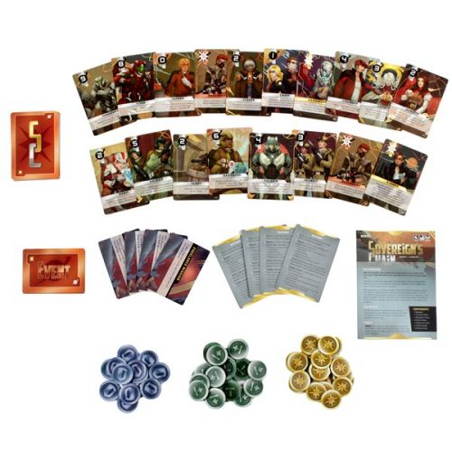 WizKids Announces Sovereign's Chain Card Game