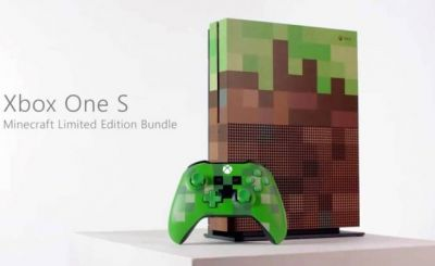 Minecraft Xbox One special edition console leaks ahead of Gamescom