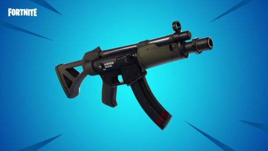 Fortnite's latest update adds a new submachine gun and removes another