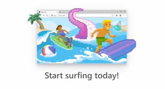 Microsoft brings Edge's hidden Surf Game to everyone