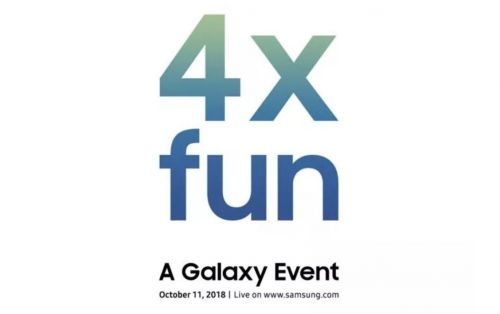Samsung teases October 11th Galaxy event with '4x fun'