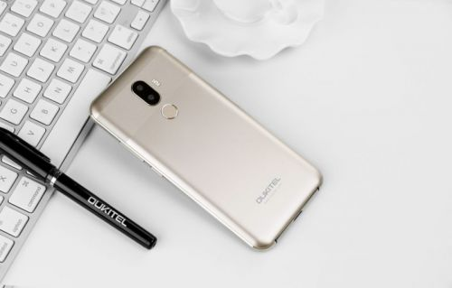 IPhone X-Like OUKITEL U18 Now Available In New Gold Color