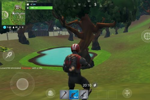 Fortnite looks terrible on my Android phone and I love it