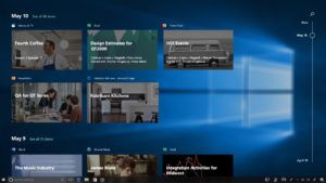 Chrome and Firefox are now compatible with Microsoft's Windows 10 Timeline feature