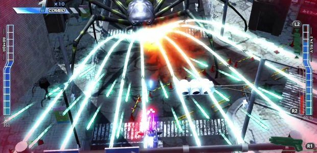 Earth Defense Force's weirdo shmup spinoff is PC-bound