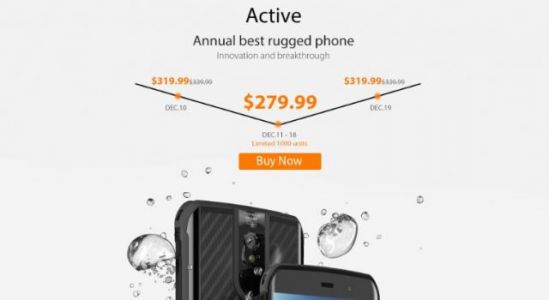 Vernee Active presale starts with $40 off for just $279.99
