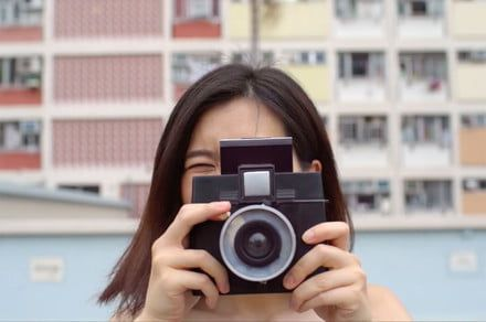 Photo FOMO: This retro-inspired instant camera has swappable lenses, $69 price