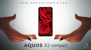 Sharp Announces the Aquos R2 With 2 Screen Notches