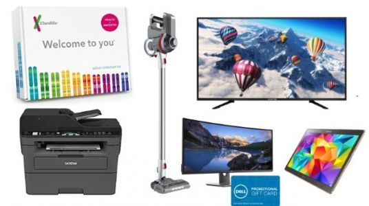 Geek Deals: 55-Inch 4K TV for $250, $100 Cordless Vacuum with Brushroll, and more