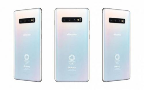 Galaxy S10+ Olympic Games Edition breaks cover