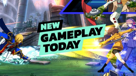 New Gameplay Today - BlazBlue: Cross Tag Battle