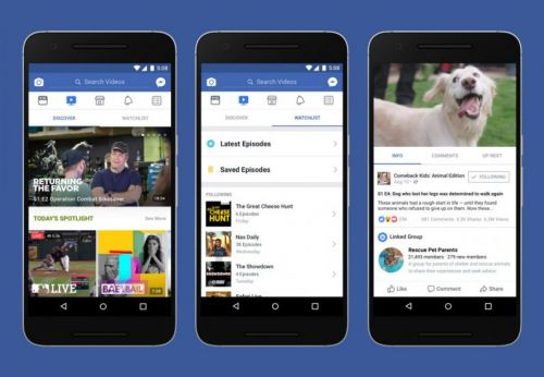 Report: Facebook is bringing its Watch streaming video service to India next year