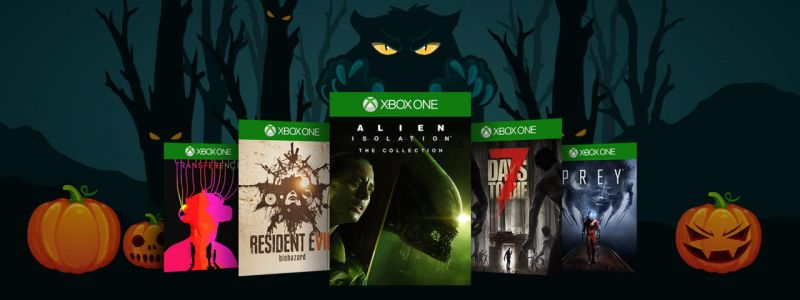 Massive Xbox One Sale On Spooky Games For Halloween