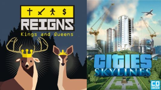 You Were All Right About Reigns and Cities: Skylines, Now on Nintendo Switch