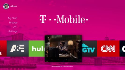 T-Mobile's latest Un-carrier move: Launching a pay TV service in 2018