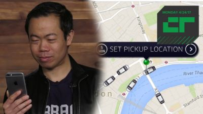 Crunch Report | Uber Responds to iPhone Tracking Report