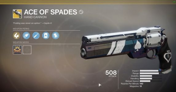 Ace of Spades: How To Do Cayde's Will In Destiny 2: Forsaken