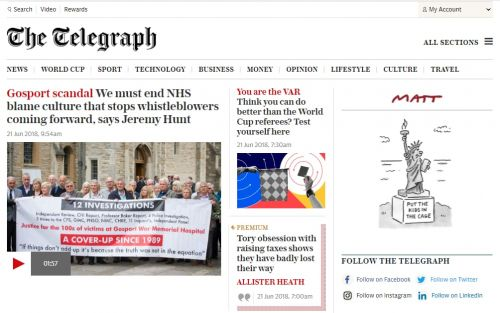 Telegraph, Guardian and News UK launch joint online advertising service