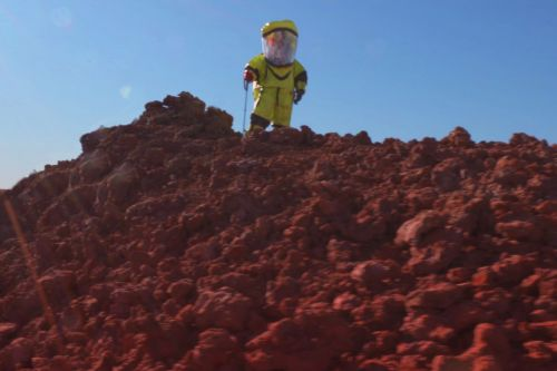 We went on a fake Mars mission in Hawaii