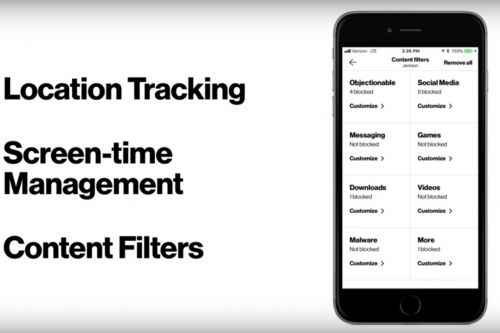 Verizon's new parental control app lets parents track their kids' locations