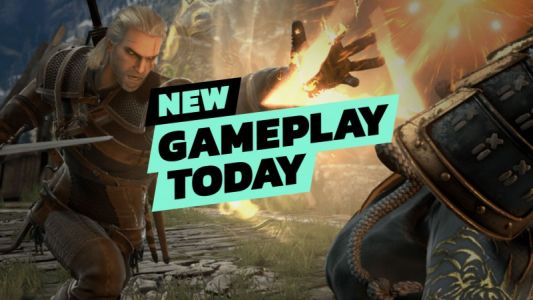 New Gameplay Today - Geralt In Soulcalibur VI