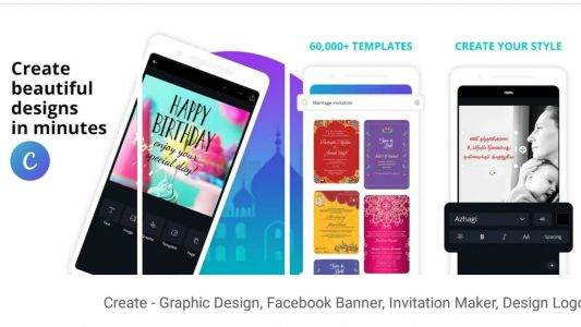 Canva for Android updated with some major bug fixes and other improvements