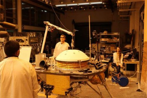 NASA testing Insight mission's robotic arm