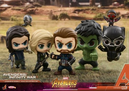 Hot Toys' New AVENGERS: INFINITY WAR Cosbaby Figures are Freaking Adorable