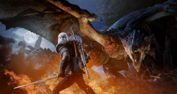 Monster Hunter World:  Capcom annonce un contenu gratuit avec Geralt de Riv de la licence The Witcher