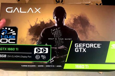 Nvidia 1660 Ti boxes and cards pictured ahead of rumored late February launch