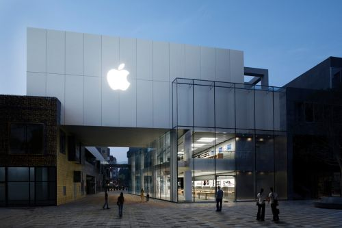 Here's a Glimpse of Apple's New 'Sanlitun' Flagship Store in Beijing, China