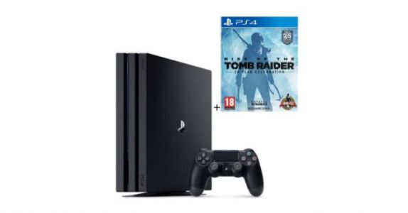 Cdiscount:  PS4 Pro 1To + Rise Of The Tomb Raider à 399€