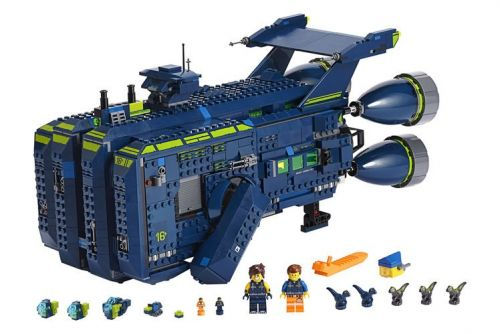 Lego's latest Lego Movie 2 set is an 1,800 piece spaceship - The Rexcelsior