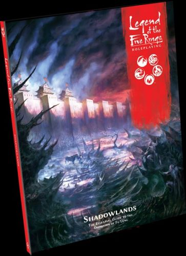 New Sourcebook and Adventure Announced for L5R RPG