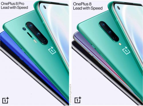 A Couple Of OnePlus 8 Series Marketing Posters Appear