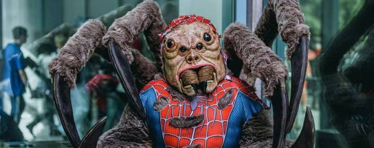 This Man-Spider Cosplay is Horrifyingly Incredible
