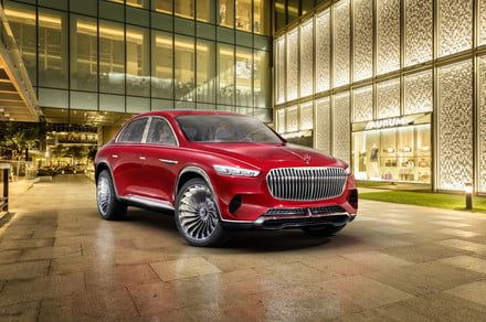 Vision Mercedes-Maybach Ultimate luxury concept lives up to its name