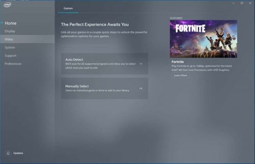 Intel launches Graphics Command Center app on Microsoft Store