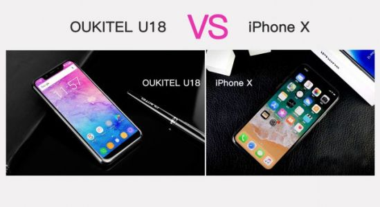 Oukitel U18 has more advantages over iPhone X than just the price