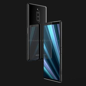 Alleged Sony Xperia XZ4 smiles for the camera. That's a tall phone!