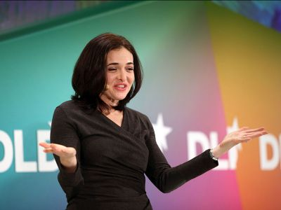 A day in the life of Sheryl Sandberg, who uses an old-school notebook, likes 'bad TV,' and goes to bed before 10