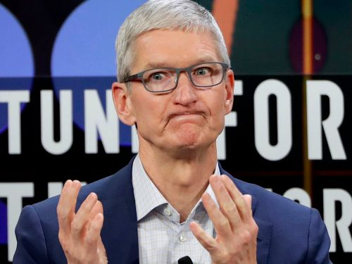 Tim Cook continues to hold Facebook's feet to the flames, arguing that hoarding data does 'significant harm'