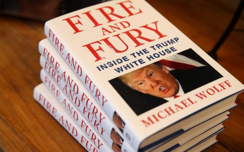 Digital versions of Trump book Fire and Fury riddled with malware