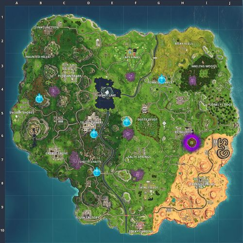 Fortnite: Where Are Timed Trials For Season 6? Map Locations Guide